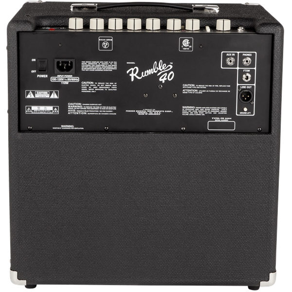 rumble 40 bacl
